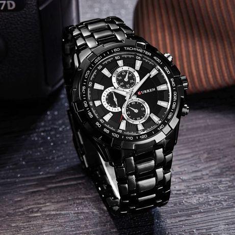 Zegarek męski Curren na bransolecie na prezent, upominek