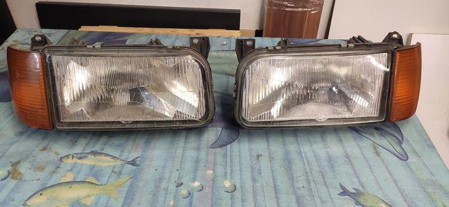 Lampy przednie VW Passat B3.