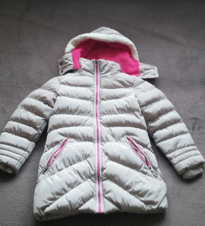 Kurtka -płaszczyk  dziewczęca zimowa