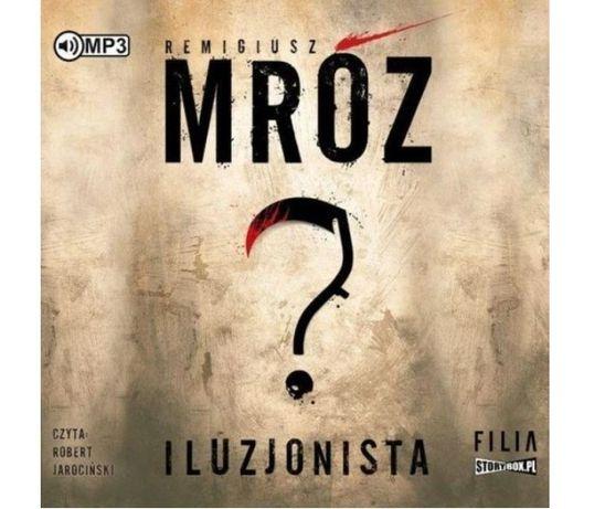 audiobook CD ILUZJONISTA / Remigiusz MRÓZ / 12h 48 min – 20 zł
