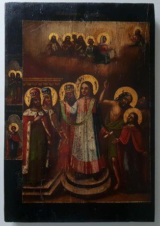 Ikona Opieki Najświętszej Bogurodzicy, Welon Matki Bożej Pokrov, Bogur
