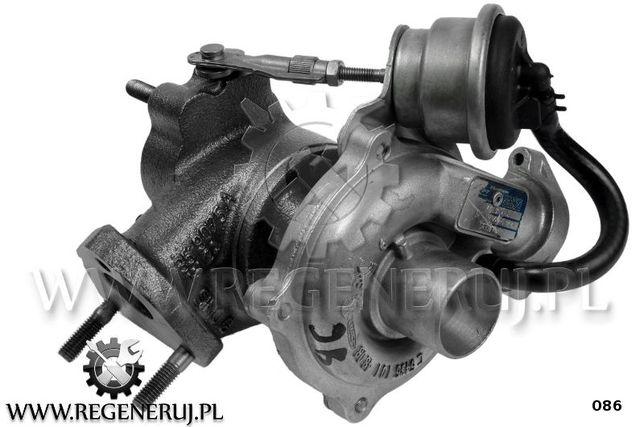Turbosprężarka KKK Fiat Panda Punto Evo Qubo 1.3 D JTD 70 75 KM
