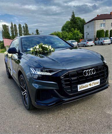 Samochód Audi Q8 2021 do ślubu, auto wynajem