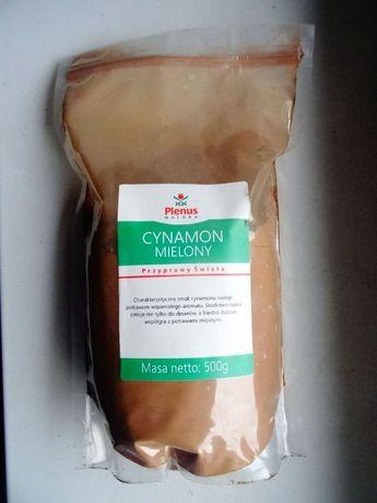 Cynamon Mielony 500 gram-100% Cynamon-Jel.Góra