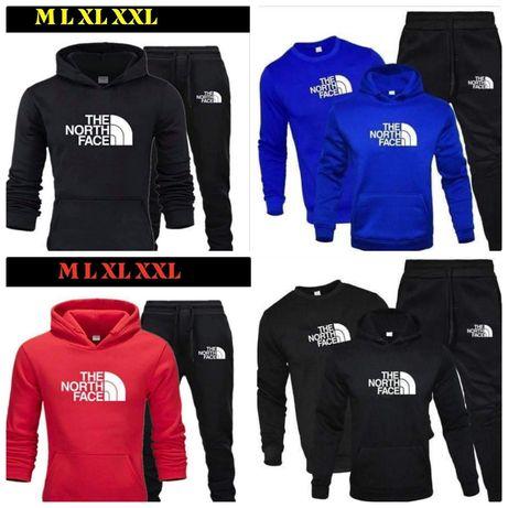 Komplety męskie i damskie z logo The North Face M-XXL!!!