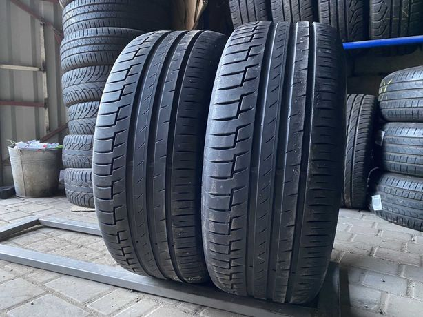 лето 235/50/R18 2019г 6мм Continental Premium Contact 6 2шт шины пара