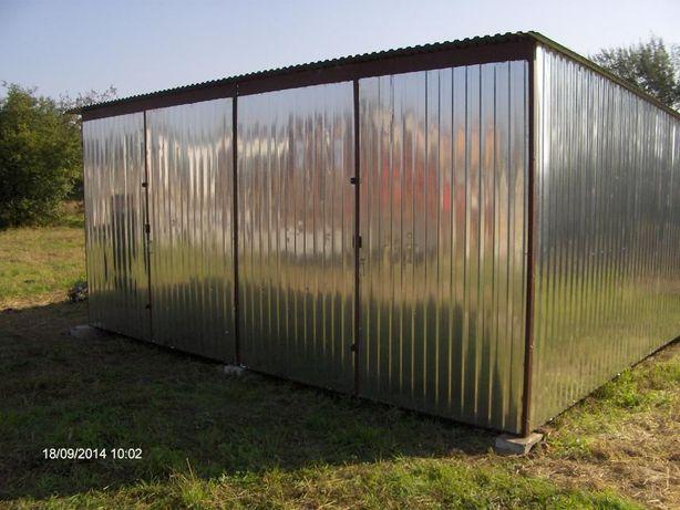 Garaż Blaszak 6x5 3050 zł Bramy,Kojce