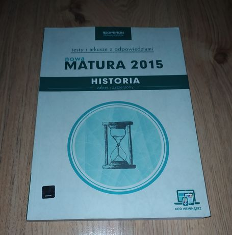 Testy i arkusze maturalne. Historia