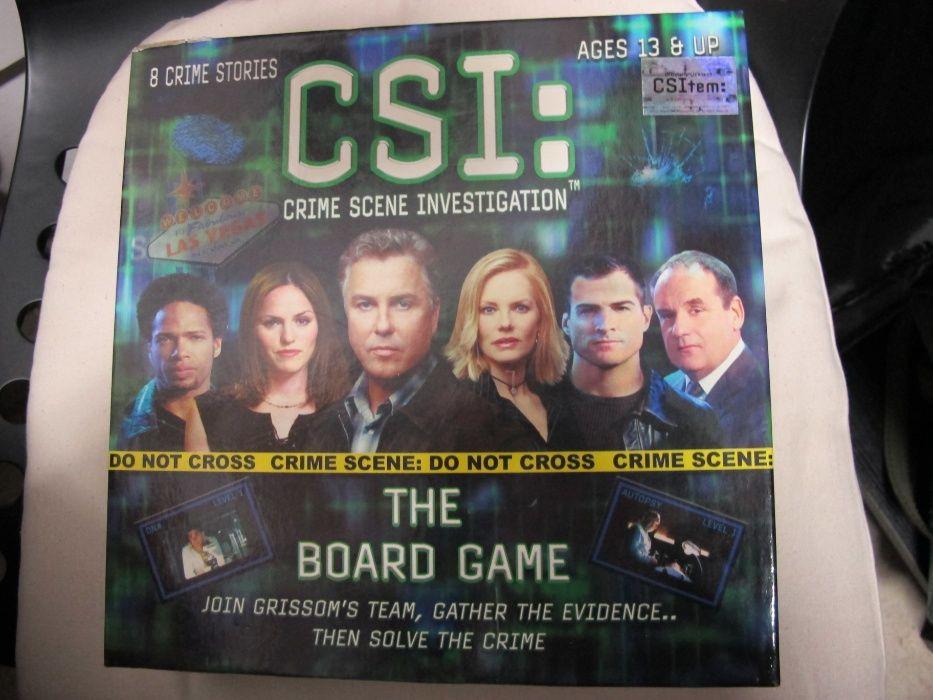 CSI: Crime Scene Investigation – The Board Game gra