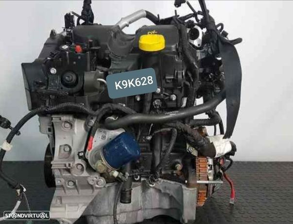 Motor Dacia Dokker Dacia Duster Logan Lodgy 1.5Dci 90Cv Ref. K9k628