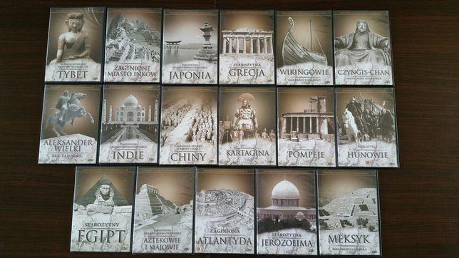 Historia cywilizacji kolekcja 17 płyty DvD