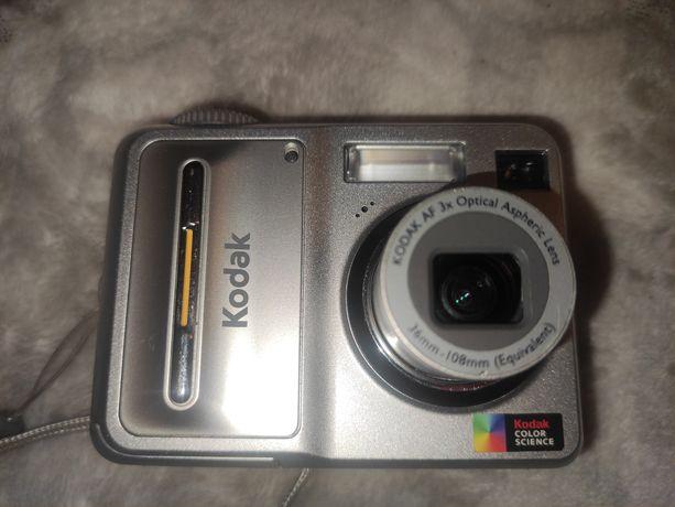 Aparat fotograficzny Kodak EasyShare C653 + pokrowiec na smyczy