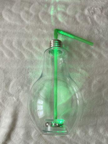 Świecąca szklanka LED