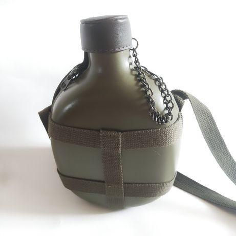 Сумка фляга клатч стильная милитари сумка зелёная хаки болотная