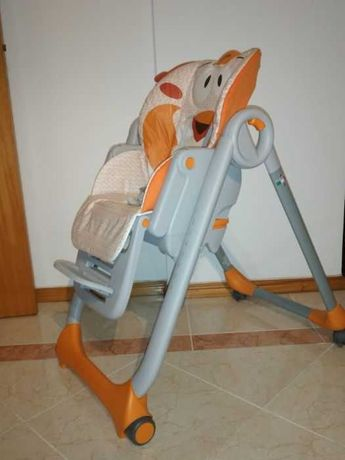 Cadeira de papa Polly2Start Chicco