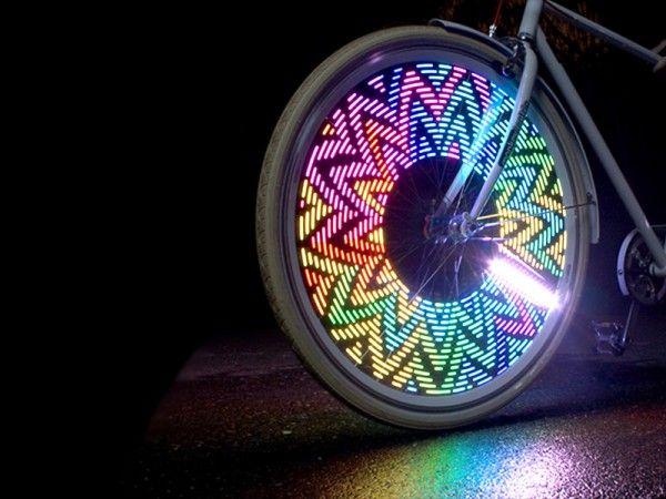 Подсветка для колес велосипеда 32LED Лучший подарок для велосипедиста