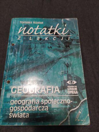 Notatki z lekcji geografia