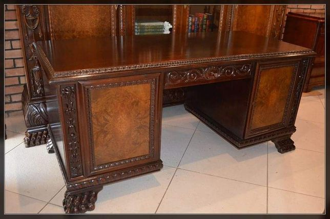 Ekskluzywne biurko neorenesansowe