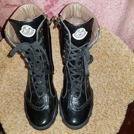 Женские кожанные ботинки,бренд Rondinella,Италия,37 размер