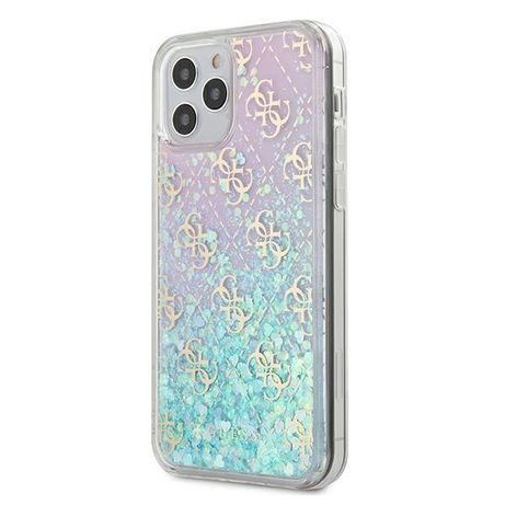 Oryginalne Etui GUESS - Gradient Liquid Glitter 4G Iphone 12 Mini