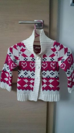 Cieply sweterek Kapphal 4 latka