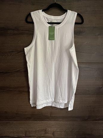 Bawełniana koszulka top podkoszulek tshirt podkoszulka bluzka oversize