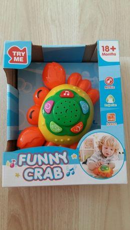 Projektor gwiazd krab edukacyjny baby mix