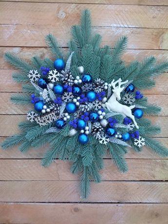 Зимний декор,новогодний декор,новогодние украшения,украшения на елку