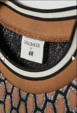 Spódnica+ bluzka komplet GP & J BAKER H&M unikat!!