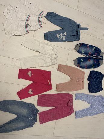 Spodenki dla dziewczynki dresowe jeansy