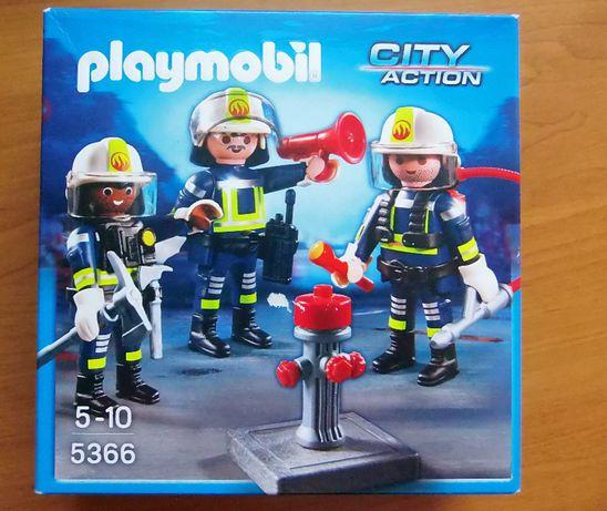 Playmobil City Action 5365 - Strażacy z hydrantem, gaśnicą itp.