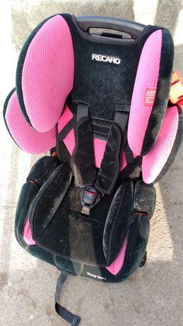 Fotelik dla dziecka Recaro 15-36 kg ròżowy
