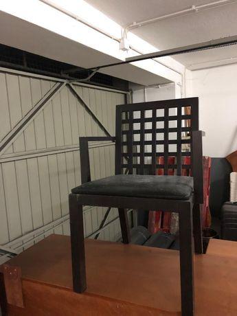 Cadeira de mesa castanho