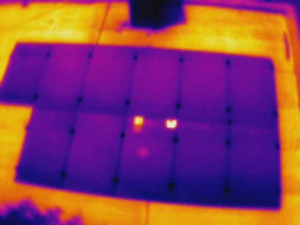 Termowizja badanie termowizyjne paneli fotowoltaicznych