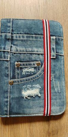 Etui tablet jeans