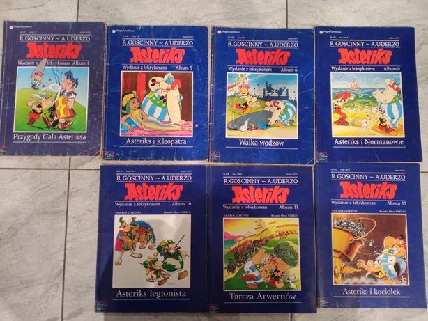 Komiksy z serii Asterix z leksykonem