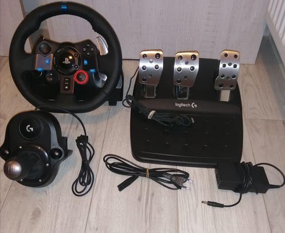Logitech G29 + Shifter
