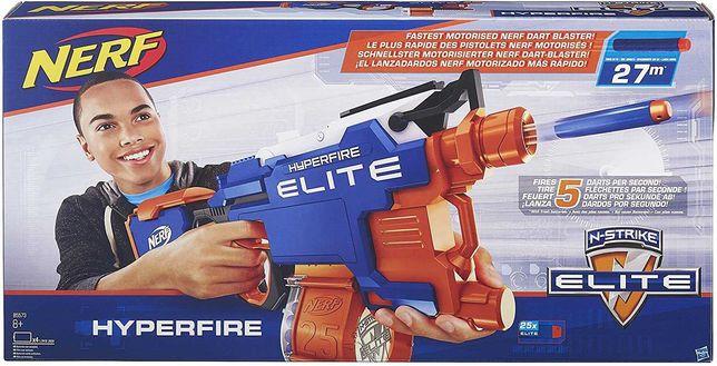 Nerf - Espingarda/Lançador Nerf HASBRO Elite Hyper-Fire