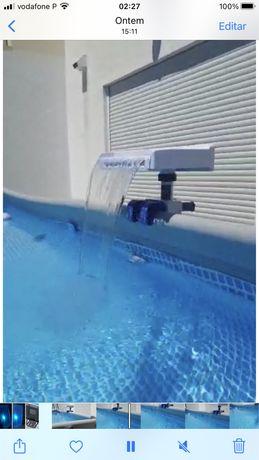 Cascata piscina nova caixa intex bestway
