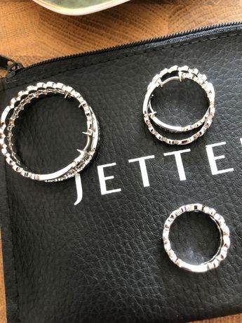 Biżuteria jette joop srebro