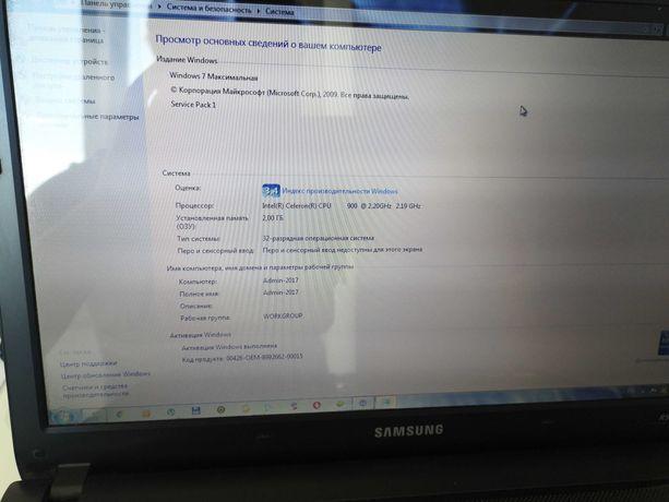 Продам ноутбук Samsung R522