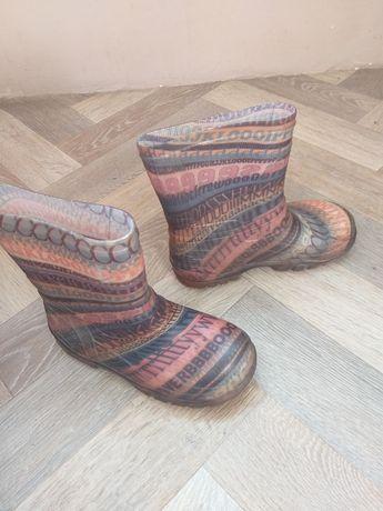 Резинові чоботи.