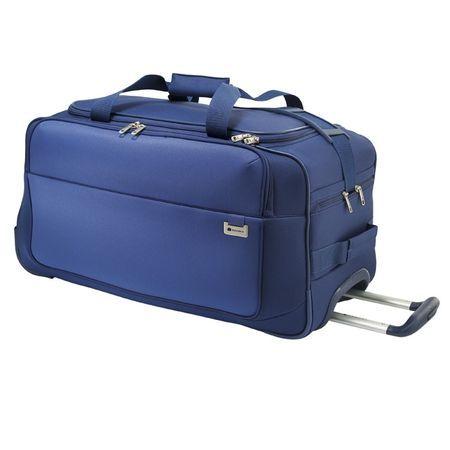 Delsey Keep n'pact torba podróżna z trolley 75 cm niebieska