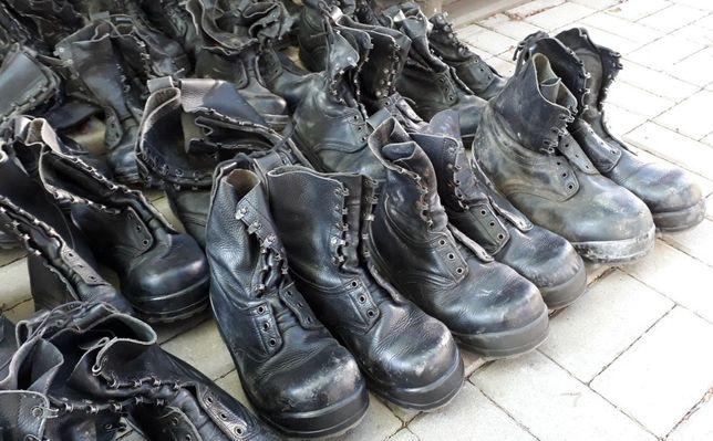 Buty robocze wojskowe szwedzkie ok. 80 par - II gatunek - pakiet mix