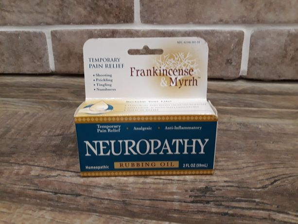 Скидка, масло ладана и мирры для растирания при невропатии