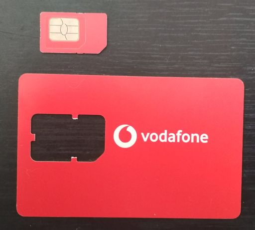 Номер (сим-карта) в тарифе «Vodafone LIGHT+»