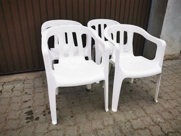 Zestaw 4 krzeseł ogrodowych z niemiec