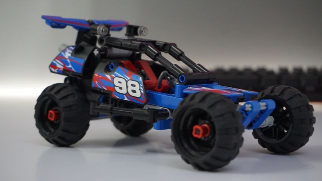 Lego Technic 42010 samochód terenowy, off-road