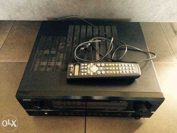 Denon amplituner avr 3801 komplet jak nowy kino domowe 7.1