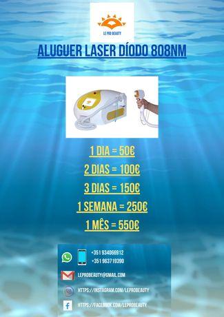 Aluguer Laser diodo 808nm 10 / 12 barras